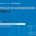 Certificate_PartnerEmpower_Telcom S A Iberia