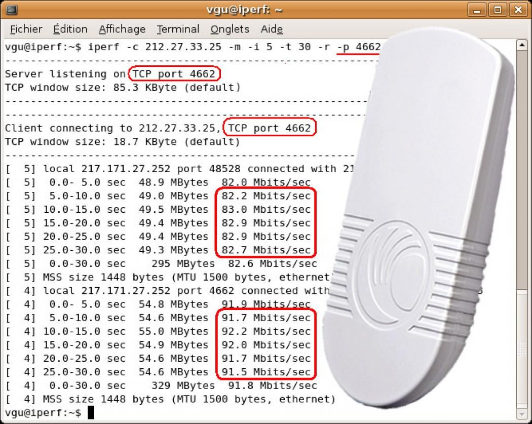 ¿Cómo interpretar correctamente los test de ancho de banda con ePMP?
