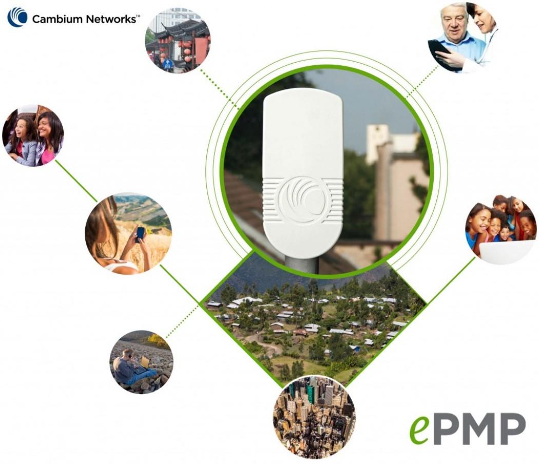 El ePMP añade WiFi, Multicast y 5/10 MHz