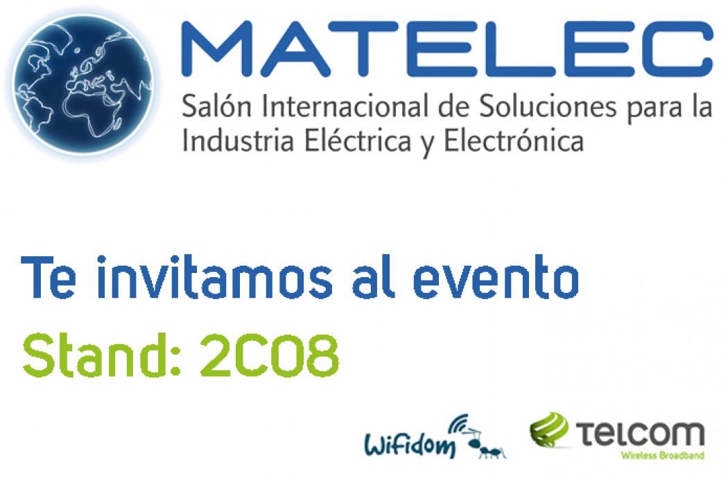 Telcom y Wifidom en Matelec 2014